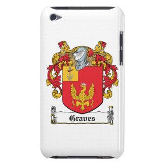 Escudo de la familia de los sepulcros iPod touch Case-Mate funda