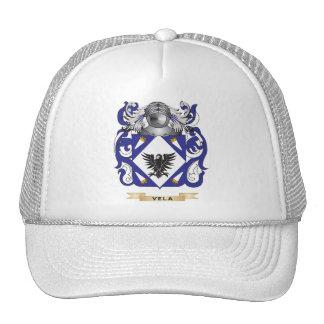 Escudo de la familia de los velos (escudo de armas gorro de camionero