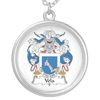 Escudo de la familia de los velos grímpola