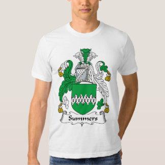 Escudo de la familia de los veranos camisas