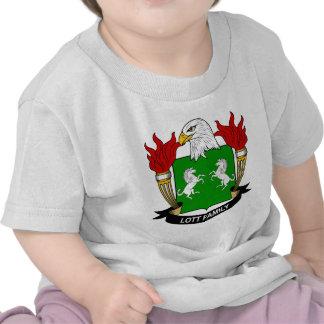 Escudo de la familia de Lott Camisetas