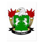 Escudo de la familia de Lott Postal