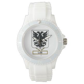 Escudo de la familia de Lott Relojes