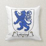 Escudo de la familia de Lotzweyl Cojines