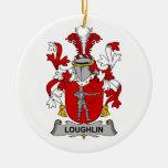 Escudo de la familia de Loughlin Adorno