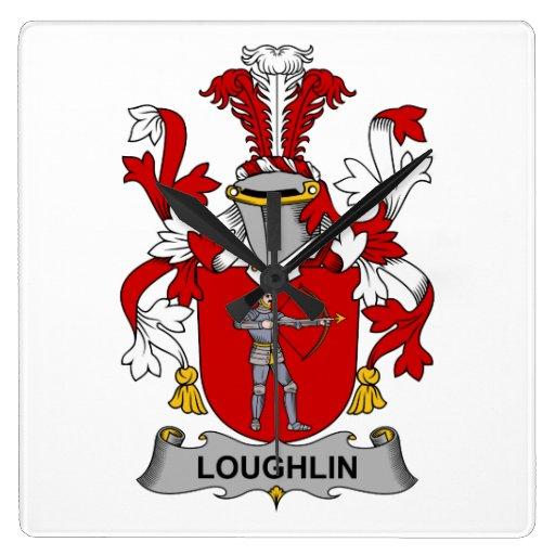 Escudo de la familia de Loughlin Relojes