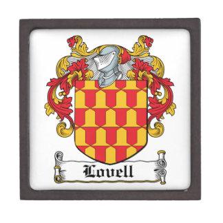 Escudo de la familia de Lovell Caja De Joyas De Calidad
