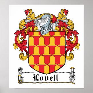 Escudo de la familia de Lovell Impresiones