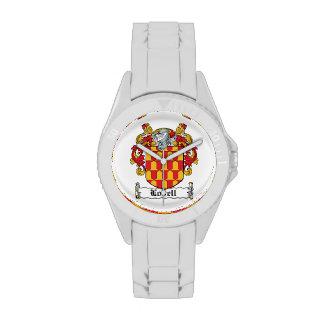 Escudo de la familia de Lovell Relojes De Mano
