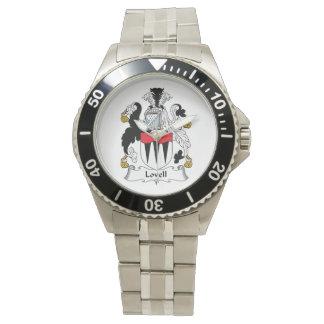 Escudo de la familia de Lovell Relojes De Pulsera