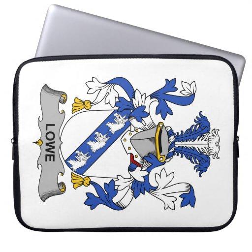 Escudo de la familia de Lowe Funda Ordendadores