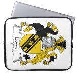 Escudo de la familia de Lowe Funda Portátil
