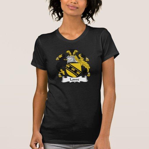 Escudo de la familia de Lowe T Shirts