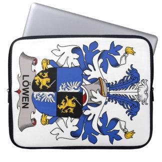 Escudo de la familia de Lowen Funda Portátil