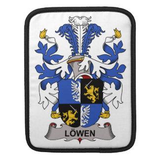 Escudo de la familia de Lowen Fundas Para iPads