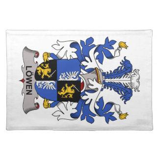 Escudo de la familia de Lowen Mantel