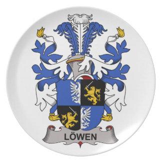 Escudo de la familia de Lowen Plato
