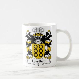 Escudo de la familia de Lowther Taza De Café