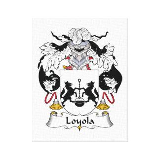 Escudo de la familia de Loyola Impresiones En Lienzo Estiradas