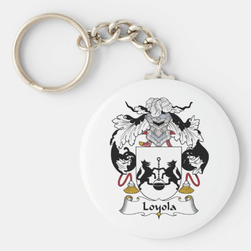Escudo de la familia de Loyola Llavero Personalizado