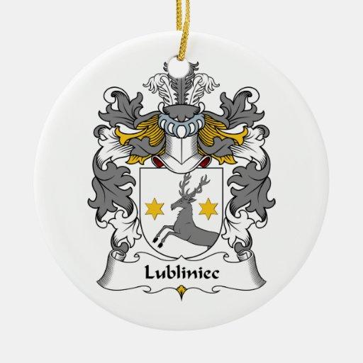 Escudo de la familia de Lubliniec Adorno