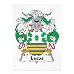 Escudo de la familia de Lucas Anuncio