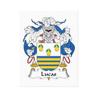 Escudo de la familia de Lucas Lona Estirada Galerías