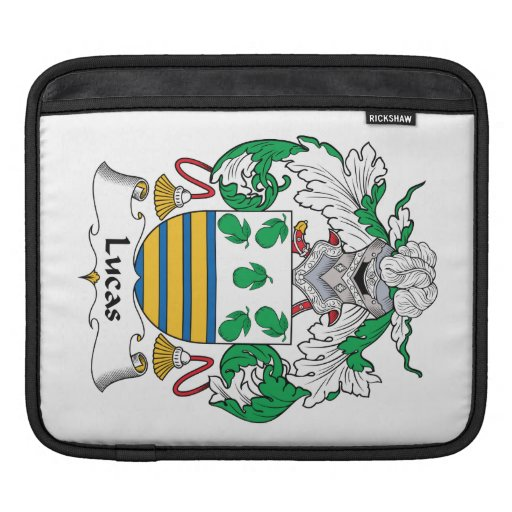 Escudo de la familia de Lucas Mangas De iPad