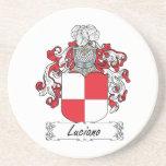 Escudo de la familia de Luciano Posavasos Personalizados