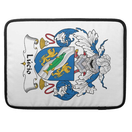 Escudo de la familia de Lucio Fundas Para Macbook Pro