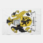 Escudo de la familia de Ludlow Toallas De Mano