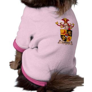 Escudo de la familia de Lueger Camisa De Perro