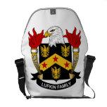 Escudo de la familia de Lufkin Bolsa De Mensajería