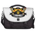 Escudo de la familia de Lufkin Bolsas De Ordenador