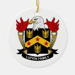 Escudo de la familia de Lufkin Ornato