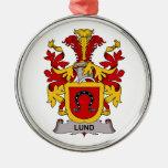 Escudo de la familia de Lund Adorno Para Reyes