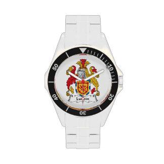 Escudo de la familia de Lundin Reloj De Mano