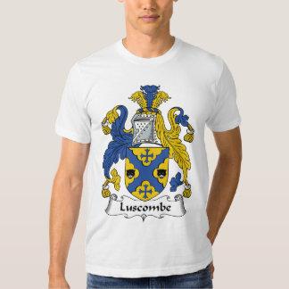 Escudo de la familia de Luscombe Poleras