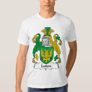Escudo de la familia de Luton Polera
