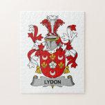 Escudo de la familia de Lydon Rompecabezas Con Fotos