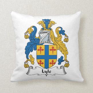 Escudo de la familia de Lyle Cojín