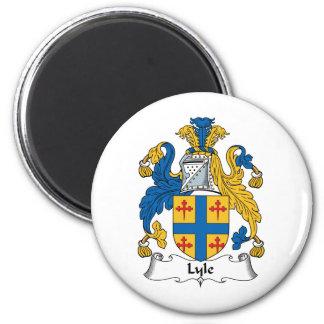 Escudo de la familia de Lyle Imán Redondo 5 Cm