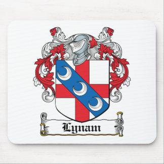 Escudo de la familia de Lynam Alfombrilla De Ratón