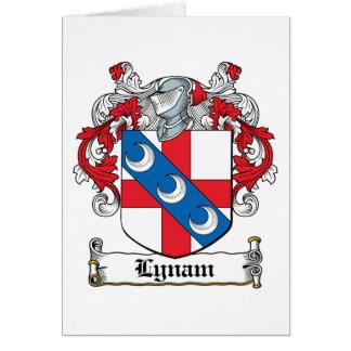Escudo de la familia de Lynam Felicitaciones