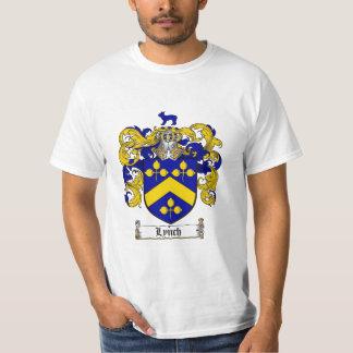 Escudo de la familia de Lynch - escudo de armas de Poleras