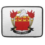 Escudo de la familia de Lynde Funda Macbook Pro
