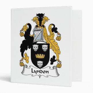 """Escudo de la familia de Lyndon Carpeta 1"""""""