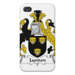 Escudo de la familia de Lyndon iPhone 4/4S Carcasas