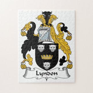 Escudo de la familia de Lyndon Rompecabeza