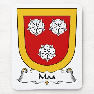 Escudo de la familia de Maa Alfombrilla De Ratones